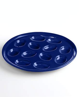 Fiesta Cobalt Egg Plate