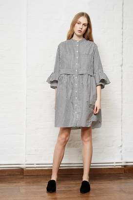 French Connection Summer Oversized Striped Shirt