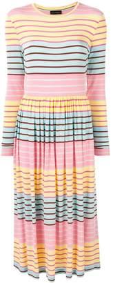Stine Goya Joel striped midi dress