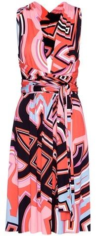 Emilio PucciEmilio Pucci Printed Silk-blend Jersey Dress