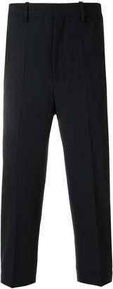 Neil Barrett cropped tuxedo trousers