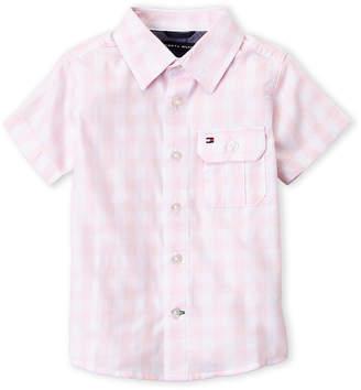 Tommy Hilfiger Toddler Boys) Crystal Rose Ryan Plaid Shirt