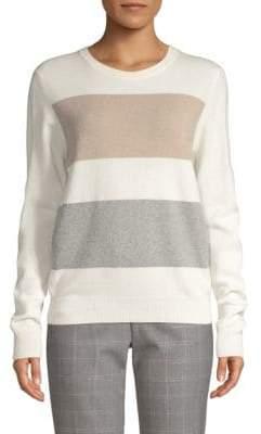 Peserico Striped Crewneck Sweater
