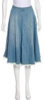 Rachel Comey Denim Midi Skirt
