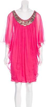 Temperley London Semi-Sheer Mini Dress
