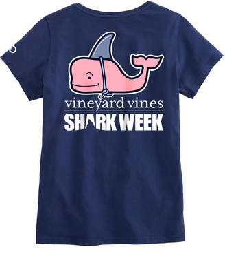 Vineyard Vines Womens Shark Week Decoy Whale Tee
