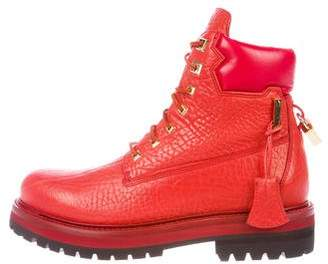 Buscemi Leather Site Boots w/ Tags