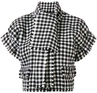Dolce & Gabbana houndstooth print top