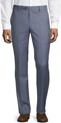 MICHAEL Michael Kors Slim-Fit Wool Blend Flat-Front Pants