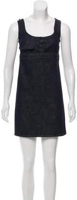 Miu Miu Denim Shift Dress