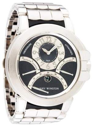 Harry Winston Ocean Chronograph Tri-Retrograde Watch