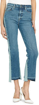 Hudson Holly High-Rise Cropped Flare-Leg Jeans