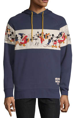 Novelty Licensed Mickey Mouse Line Up Graphic Hoodie