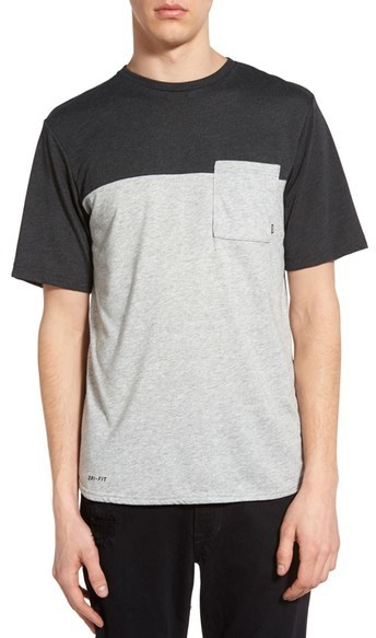 Nike SB Colorblock Pocket Dri-FIT T-Shirt
