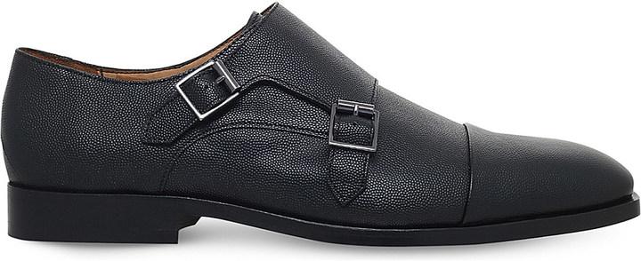 Paul SmithPaul Smith Luigi leather monk shoes