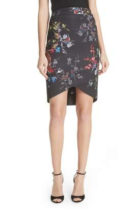 Ted Baker Opulent Fauna Pencil Skirt