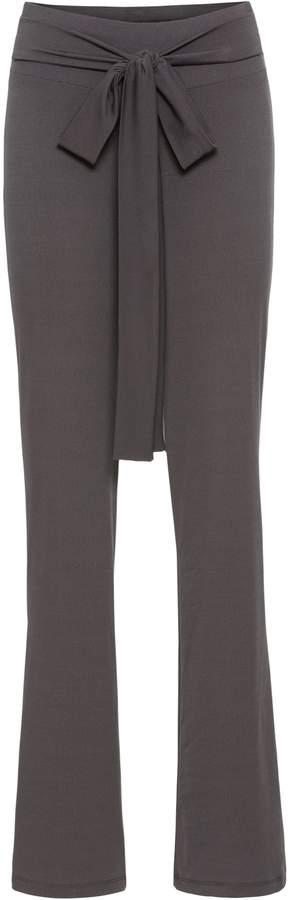 BODYFLIRT Jerseyhose mit weitem Bein