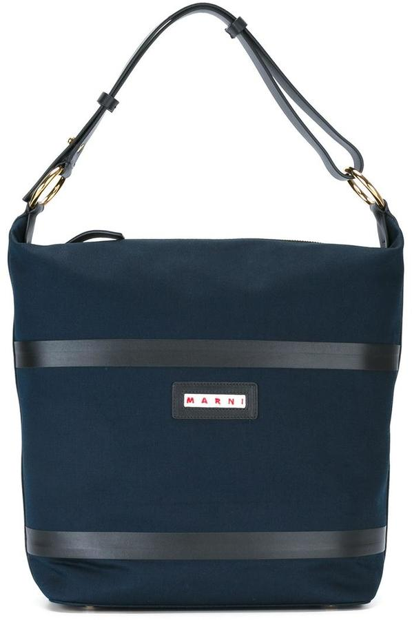 Marni Marni canvas shoulder bag