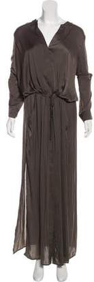 Vince Long Sleeve Maxi Dress w/ Tags