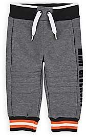Givenchy Infants' Logo Cotton-Blend Moto Sweatpants - Gray