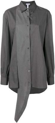 Loewe asymmetric two-tone shirt