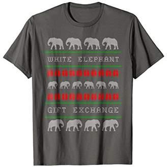 White Elephant Gift Exchange Funny Ugly Holiday T-shirt