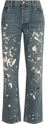 Helmut Lang Painted High-rise Boyfriend Jeans