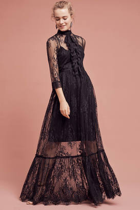 Tracy Reese Laced Victorian Maxi Dress $498 thestylecure.com
