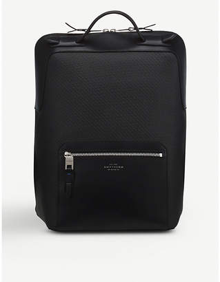 Smythson Greenwich large leather backpack