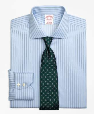 Brooks Brothers Madison Classic-Fit Dress Shirt, Non-Iron Pencil Stripe