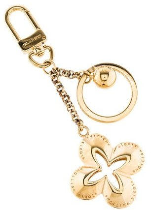 Louis Vuitton Louis Vuitton Brass Eclipse Keychain