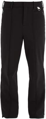 Neil Barrett Side-stripe straight-leg ski trousers