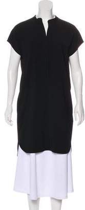 Vince Knee-Length Short Sleeve Dress