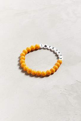 Urban Outfitters The Internet X Beaded Bracelet