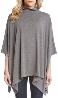 Karen Kane Funnel Neck Sweater Poncho