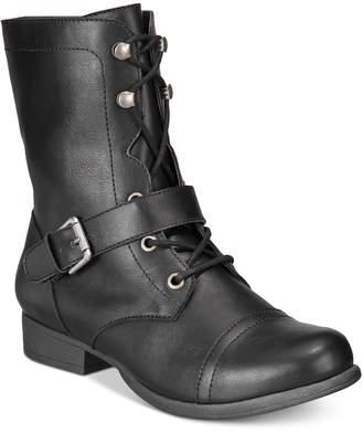 American Rag Farahh Combat Booties, Women Shoes