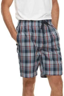 Van Heusen Men's Plaid Sleep Shorts