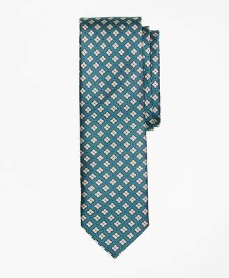 Brooks Brothers Geometric Print Silk Tie