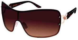 Southpole Women's 455sp-gldbr Shield Sunglasses
