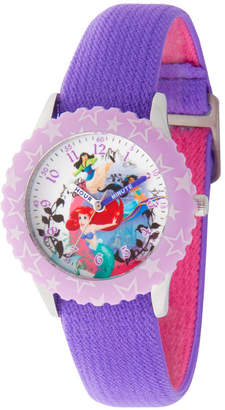 Princess Girls DISNEY PRINCESS Disney Princess Disney Purple Strap Watch-Wds000200
