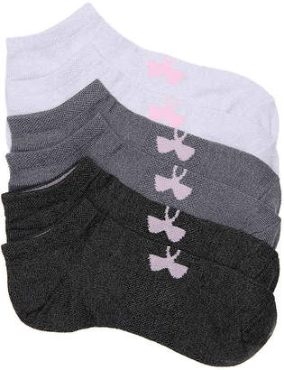 Under Armour Essential No Show Socks - 6 Pack - Women's