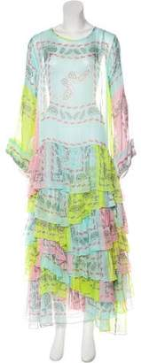Natasha Zinko Silk Maxi Dress
