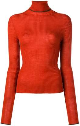 Acne Studios fitted turtleneck sweater