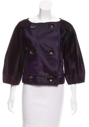 Kaufman Franco Kaufmanfranco Leather Double-Breasted Jacket