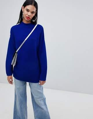 Weekday Textured Stripe Knit Sweater