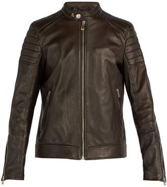 Belstaff Northcott leather biker jacket