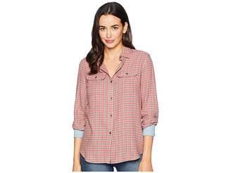 Chaps Long Sleeve Shirt Women's Clothing