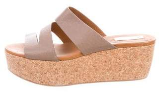 See by Chloe Slide Wedge Sandals