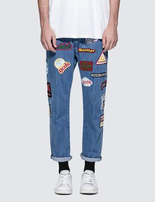 GCDS 5 Pocket Patch Jeans
