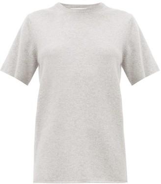 Extreme Cashmere - No. 64 Cashmere Blend T Shirt - Womens - Grey